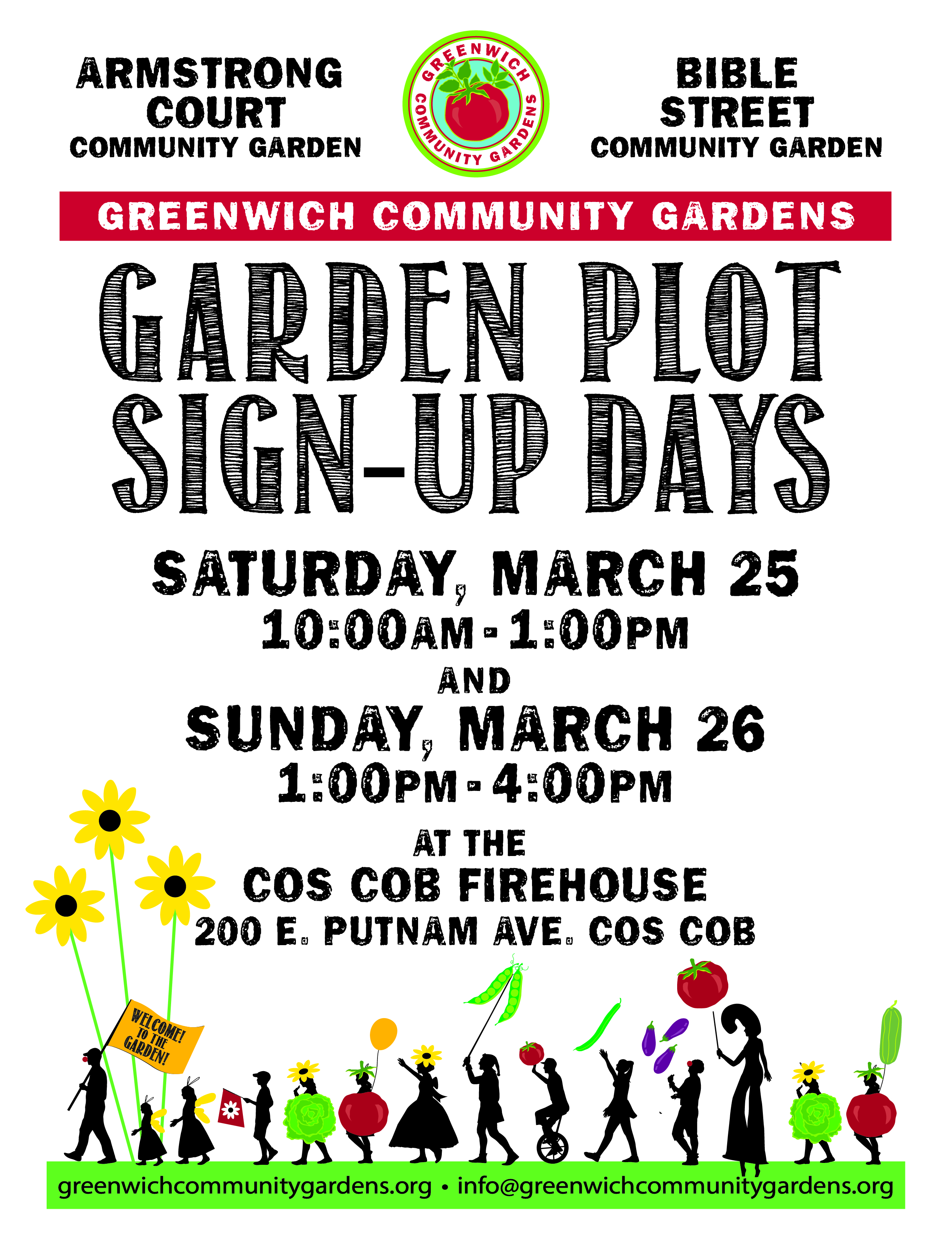 2017 Garden Sign Up Days